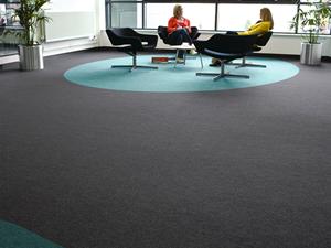 Carpet Tiles feature circle
