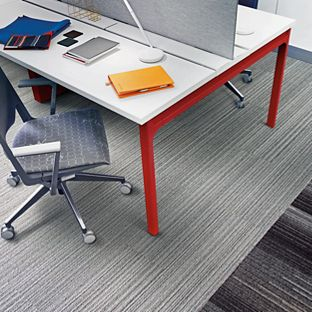 Grey Office Carpet Tiles