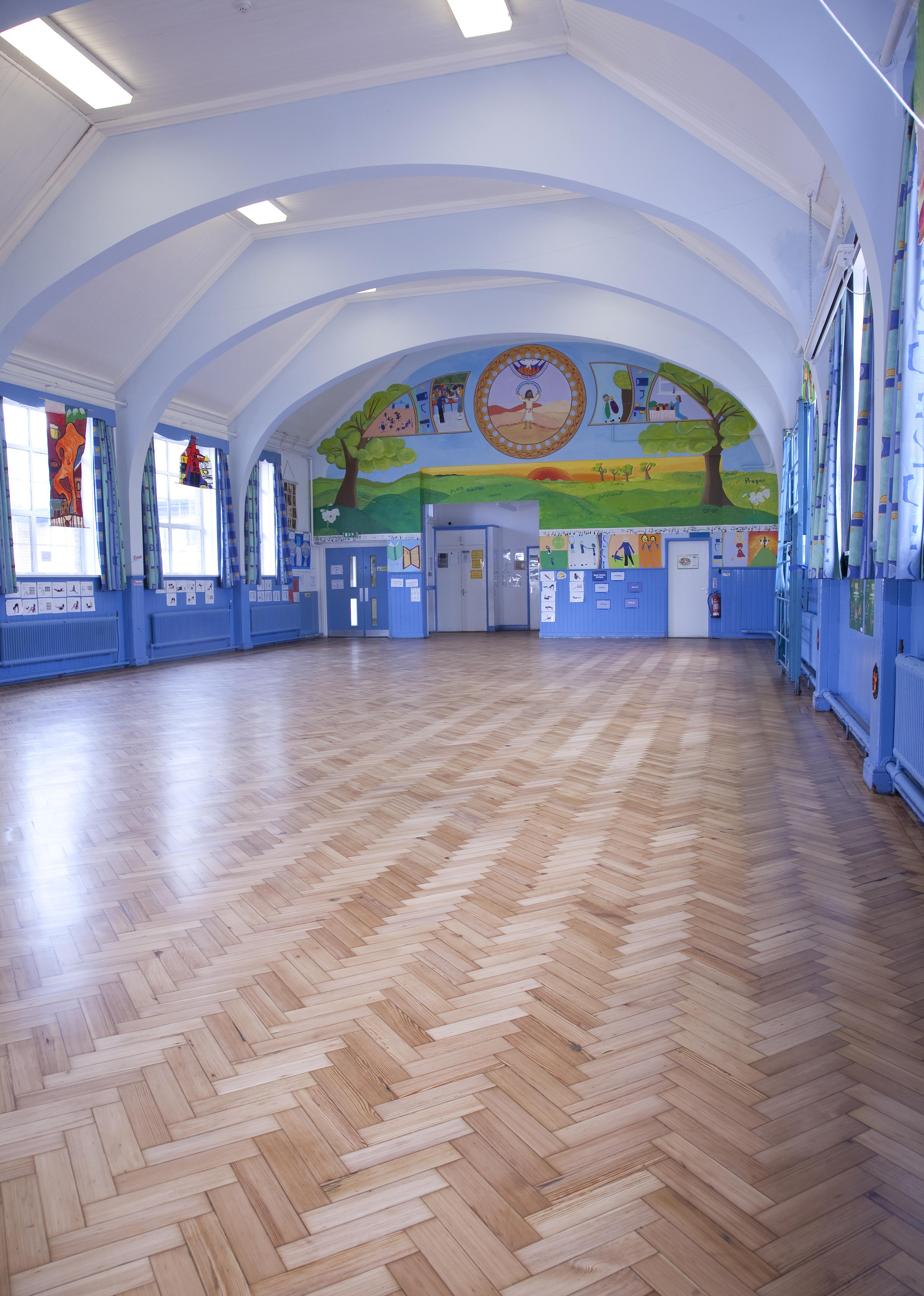 School Wood Floor Sanding Bristol